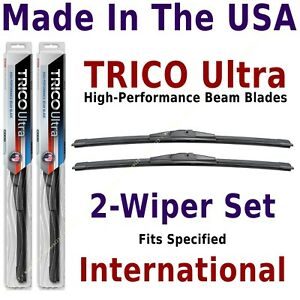 Buy American: TRICO Ultra 2-Wiper Blade Set fits listed International: 13-24-24