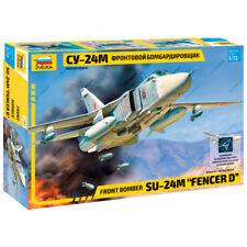 "ZVEZDA 7267 Model Kit ""Front Bomber SU-27M ""FENCER D"""