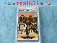 1990 JAROMIR JAGR Rookie | PSA 10 Gem Mint w/Stat Header Line | BGS 9.5 | PICK