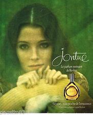 PUBLICITE ADVERTISING 055  1976  REVLON   parfum de femme JONTUE