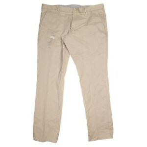Calvin Klein Slim Fit Beige Chino Pant 40 x 32 L NWT