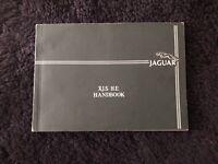 Jaguar XJS HE V12 1981-82 Owners Manual Handbook OEM AKM9045