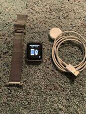 Apple Watch 42mm Stainless Steel Milanese Loop READ DESCRIPTION
