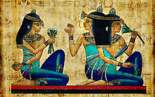 A0 SIZE CANVAS PRINT massive egypt pharoh  egyptian cleopatra