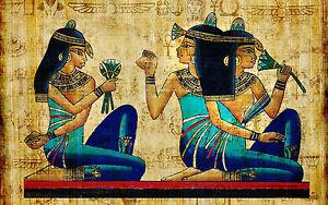 A0 SIZE CANVAS PRINT massive egypt pharoh  egyptian cleopatra