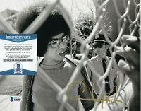 ANGELA DAVIS SIGNED AUTOGRAPH 8x10 PHOTO CIVIL RIGHTS ACTIVIST E BECKETT BAS COA