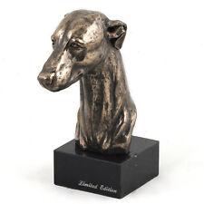 Whippet, Kleiner Englischer Windhund, Hundemarmorstatue Büste, ArtDog, AT