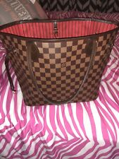 authentic louis vuittons handbags neverfull mm Damier
