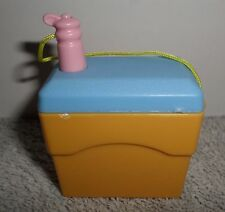 Fisher Price Loving Family Dollhouse Orange and Blue Ice Chest Water Bottle