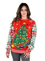 SoCal Look Women's Ugly Christmas Sweater Christmas Tree Pullover
