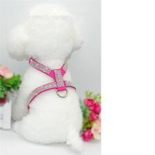 Teacup Dog harness Soft Vest Pet Puppy Collar for Chihuahua Yorkie Toy Poodle