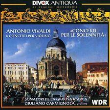 Giuliano Carmignola, - Concerti Per Le Solennita [New CD]