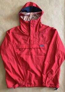 Vintage PATAGONIA 90's Pullover jacket NEW Parka Anorak Grid Synchilla Snap-t