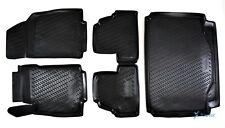 Exklusiv 3D 5-tlg SET Gummimatten + Kofferraumwanne Opel Mokka / Mokka X ab 2012