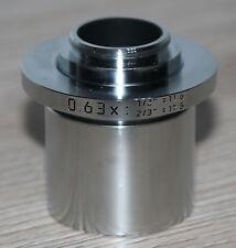 Leica MICROSCOPIO Microscope C-Mount Adattatore 0,63x (numero: 543669)