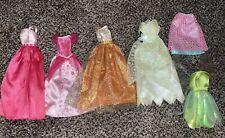 Lot Doll Clothes Barbie Party & Disney Princess Dresses