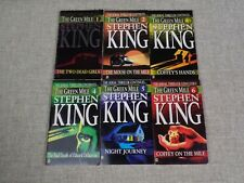 Lot Of 6 Stephen King The Green Mile Series Complete Set Paperback