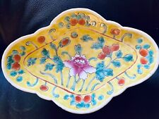 Antique Porcelain Bowl China Dish 19th C