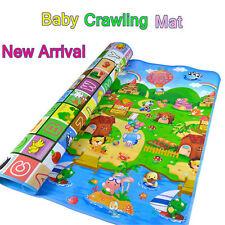Baby Kid Toddler Crawl Play Game Picnic Carpet Animal Letter Alphabet Farm Mat w