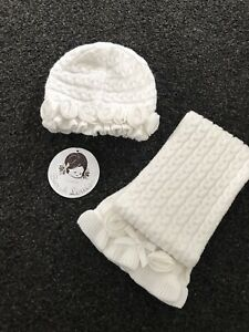 Sarah Louise Hat And Scarf Set Age 1 BNWT