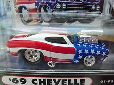MUSCLE MACHINES (1969) '69 CHEVY CHEVELLE - SEPTEMBER 11, 2001 - STARS & STRIPES