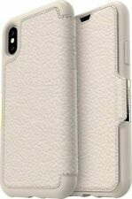 Case Otterbox Strada Leather Folio for Apple iPhone X,XS - Soft Opal Beige
