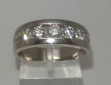 Band Natural Round VS1 Fine Diamond Rings