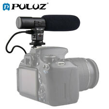 PULUZ Universal 3.5mm Audio Stereo Recoding Interview Microphone for DSLR Camera