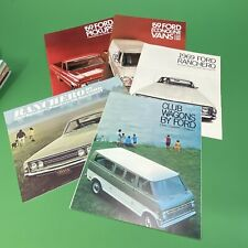 ORIGINAL 1968-69 Ford Truck Showroom Brochures F100 F150 F250 F350 Shelby NICE!!