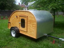 Best 5x8 TEARDROP Camp Trailer Tear Drop RV Camper PLANS #1