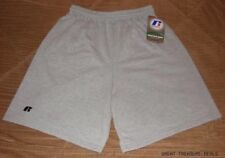 NEW RUSSELL ATHLETIC OXFORD GREY SHORTS - SMALL 42715MO