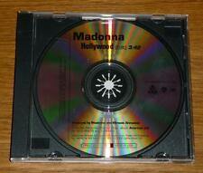 MADONNA Hollywood US 1 TRACK PROMO CD SINGLE PRO-CDR-101128 MINT!!