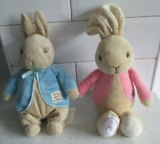 BEATRIX POTTER PETER RABBIT AND FLOPSY PLUSH SOFT TOYS