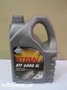 Titan ATF 6000 SL 4L LITRE Premium Auto Transmission Fluid BMW FUCHSDEX6