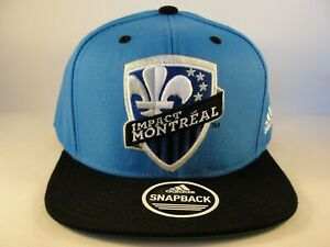 Montreal Impact MLS Adidas Snapback Hat Cap Blue Black