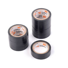High Quality PVC Electricians Electrical Insulation Tape Black 15mmx10M New