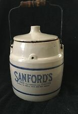 SANFORD'S INKS PASTES JUG CONTAINER with Cover Lid