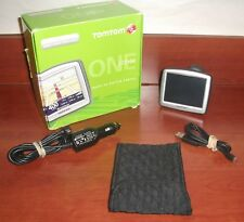 Tomtom ONE 125 SE GPS Navigation System Bundle USB Cable, Car Power Adapter EUC