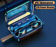 Wireless Earbuds Bluetooth Headphones For Samsung Galaxy S10 S9 Power Bank BT5.0