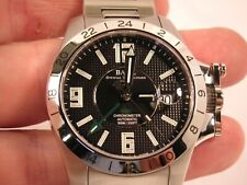Ball Engineer Hydrocarbon Magnate GMT Automatic Black Dial Men's Watch COSC