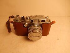 Vintage Canon Leica Screw Mount Rangefinder & Serenar 50mm Lens Japan