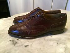 vintage '80 Dacks wingtip oxford rockabilly classic mens shoes sz 11.5D