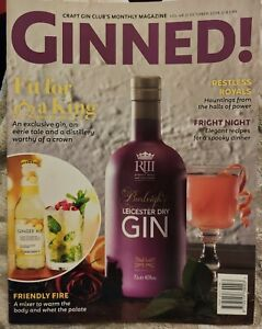 GINNED! MAGAZINE October 2018 Volume 48 Excellent Condition