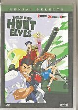 Those Who Hunt Elves Complete Anime Collection (DVD, 2016, 4-Disc Set)