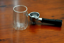 New 2 cups  Double Wall Glasses Tea Glass Coffee Cup Bar Cup 400ml