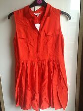 Orange New Look Dress Size 14 (bnwt)