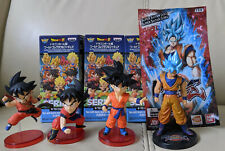 Banpresto WCF Dragon Ball Super Series 1 set 4 figures figherZ Goku gamestop