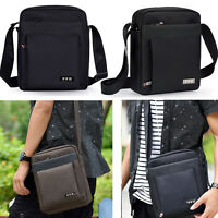 New Men's Shoulder Bag Messenger Bag Cross Body Bag Sport Bag Carry On 2 Colors