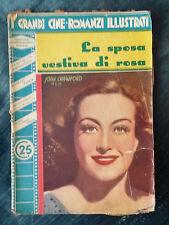 Grandi cineromanzi illustrati La Sposa vestiva di rosa (J. Crawford, 1937) 07/16