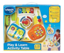 VTech Play & Learn Activity Table Baby/Infant Toy with Musical Notes and Light-U